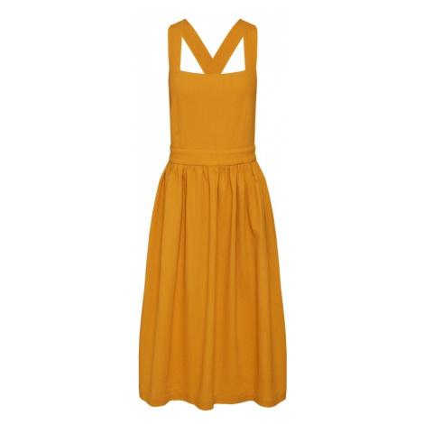 NÜMPH Sukienka 'Kinley' musztardowy Nümph
