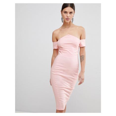 Vesper Bardot Pencil Dress