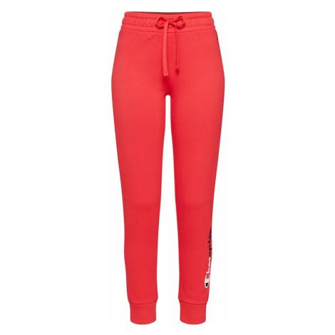 Champion Authentic Athletic Apparel Spodnie czerwony / czarny / biały