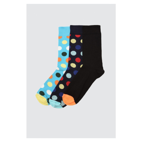 Trendyol Multicolored Men's 3 Socket Socks