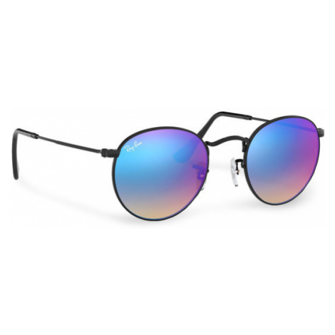 Ray-Ban Okulary przeciwsłoneczne Round Metal 0RB3447 002/4O Czarny