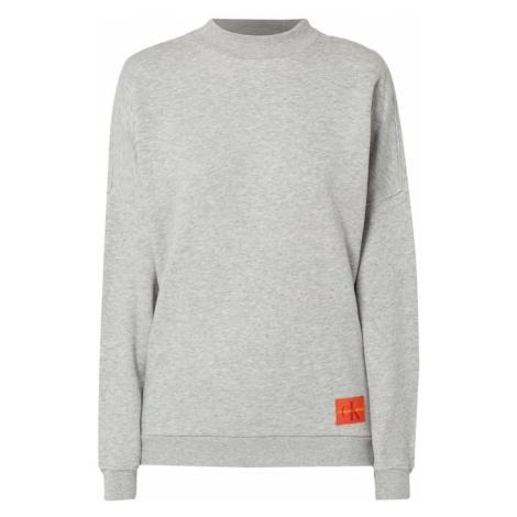 Bluza o kroju oversized melanżowa Calvin Klein