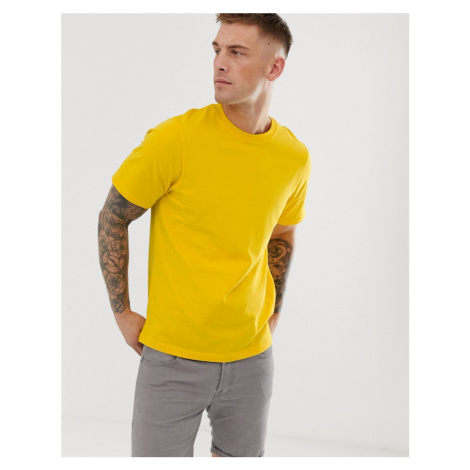 Pull&Bear Join Life t-shirt in bright yellow Pull & Bear