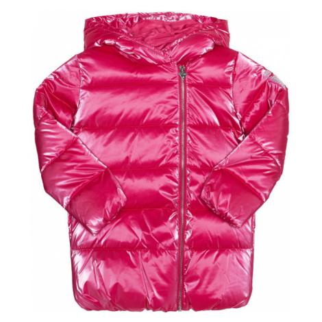 Guess Kurtka puchowa Velvet K0BL01 WDCN0 Różowy Regular Fit