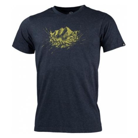 Northfinder ABELIN ciemnoniebieski S - Koszulka outdoorowa męska