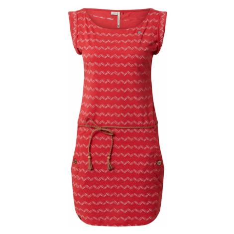 Ragwear Sukienka 'ZIG ZAG' czerwony
