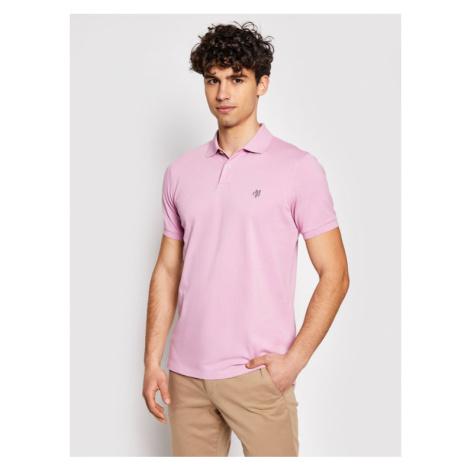 Marc O'Polo Polo 123 2230 53002 Różowy Regular Fit