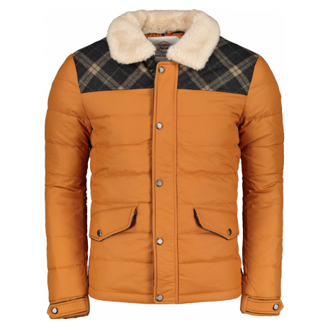 Lee Cooper Shearling Contrast Jacket Mens