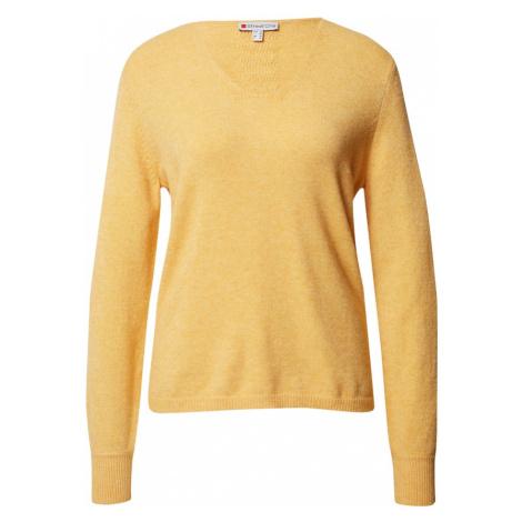 STREET ONE Sweter żółty