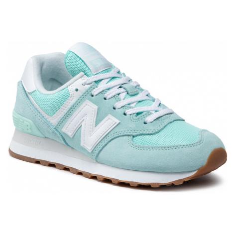 Sneakersy NEW BALANCE - WL574PS2 Zielony