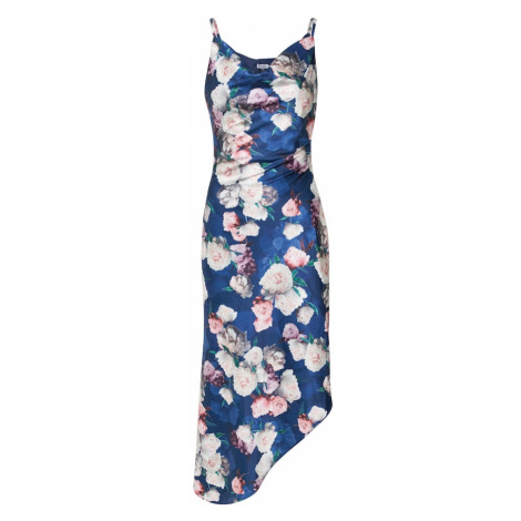 Chi Chi London Letnia sukienka 'Elysha' granatowy / mieszane kolory