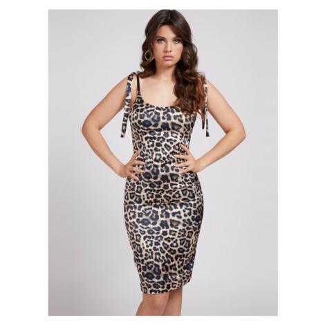 Sukienka Marciano W Zwierzęcy Print Marciano Guess