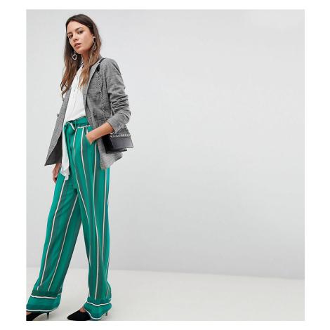 Y.A.S Tall Stripe Wide Leg Trouser