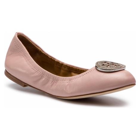 Baleriny TORY BURCH - Liana Ballet Flat 46084 Pink 654