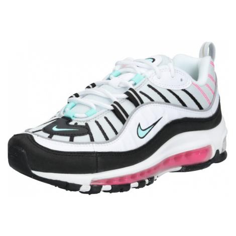 Nike Sportswear Trampki niskie 'Air Max 98' zielony / biały / czarny