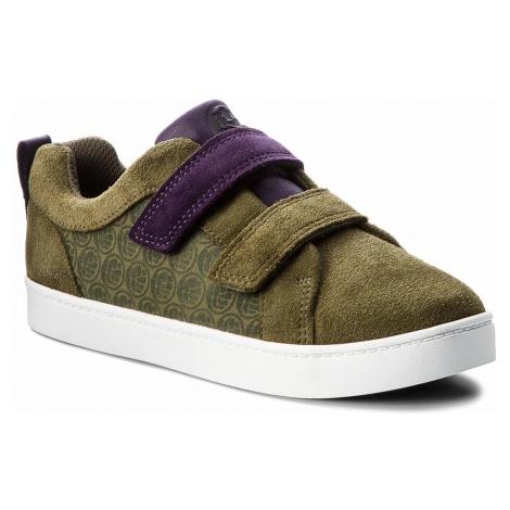 Sneakersy CLARKS - City Hero Lo 261376457 Green Sde