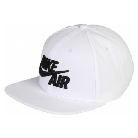 Nike Sportswear Czapka z daszkiem czarny / biały