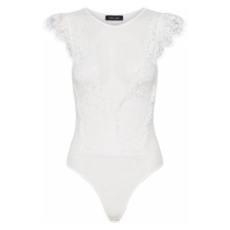 NEW LOOK Koszulka 'GO SHORT' biały