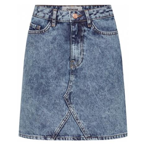 NEW LOOK Spódnica niebieski denim