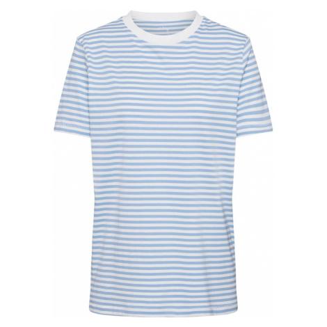 SELECTED FEMME Koszulka biały / jasnoniebieski
