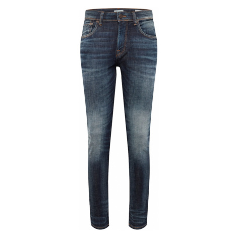 SELECTED HOMME Jeansy 'SLHSLIM-LEON 6164 D. BLUE ST JNS W NOOS' niebieski denim