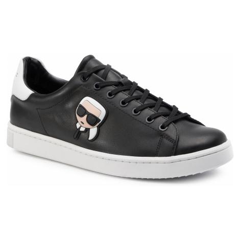 Sneakersy KARL LAGERFELD - KL51209 Black Lthr