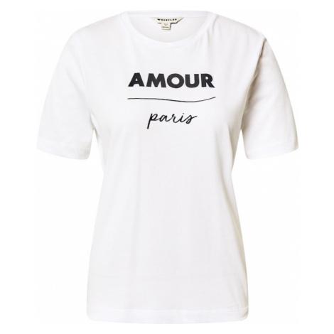 Whistles Koszulka 'Amour Paris' biały / czarny