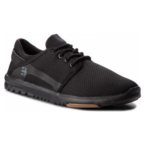 Sneakersy ETNIES - Scout 4101000419 Black/Black/Gum 544