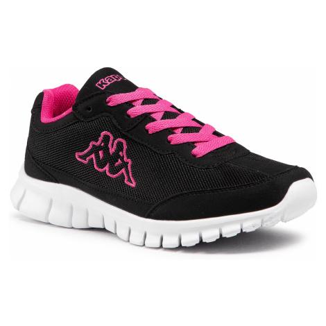 Sneakersy KAPPA - Rocket 242130 Black/L'Pink 1127