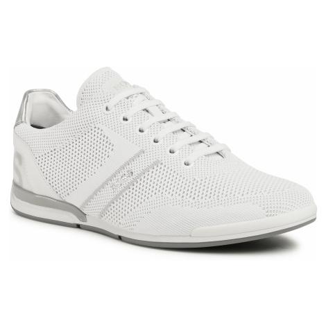 Sneakersy BOSS - Saturn 50432830 10227355 01 Open White 120 Hugo Boss