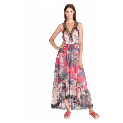 Just Cavalli Sukienka Różowy