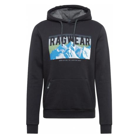 Ragwear Bluzka sportowa 'STREK' czarny / biały / jasnoniebieski / szary / jasnozielony