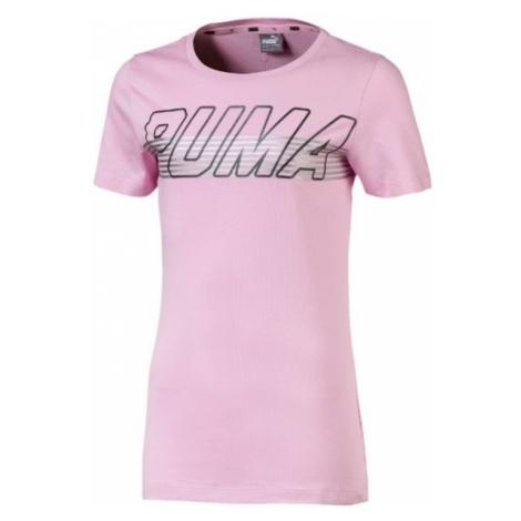 Puma ALPHA LOGO TEE G - Koszulka dziecięca