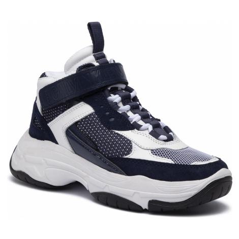 Sneakersy CALVIN KLEIN JEANS - Missie B4R0824 White/Navy