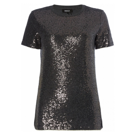 DKNY Core Sequin T Shirt