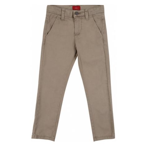 S.Oliver Junior Jeansy jasnobrązowy