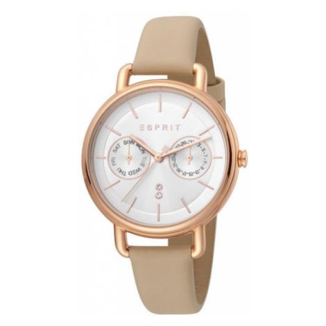 Esprit Zegarek ES1L179L0055 Beżowy