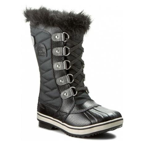 Śniegowce SOREL - Youth Tofino II NY2419 Black/Quarry 010