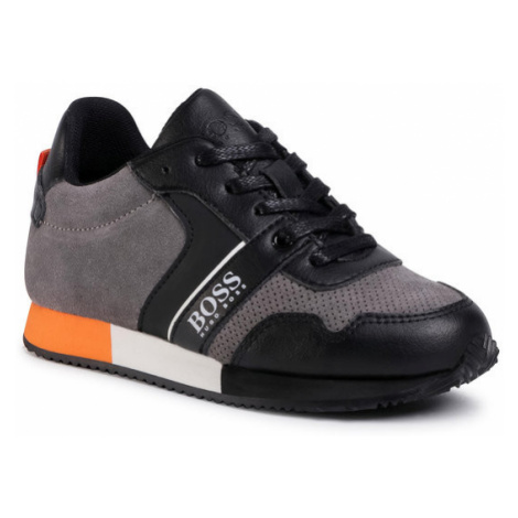Boss Sneakersy J29225 S Szary Hugo Boss