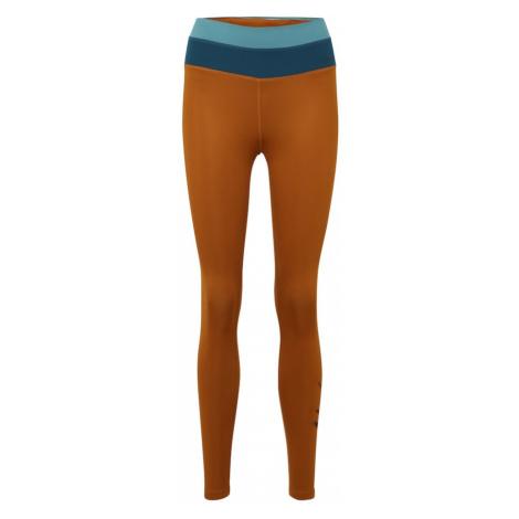 NIKE Spodnie sportowe niebieski / rdzawobrązowy