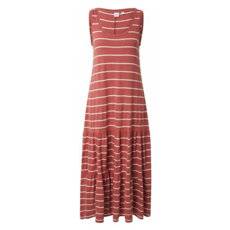 GAP Sukienka mieszane kolory / czerwony