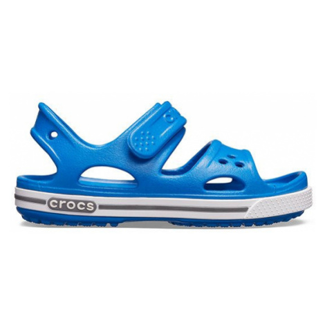 Sandały Crocs Crocband II Sandal PS 14854 BRIGHT COBALT/CHARCOAL