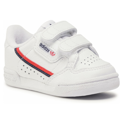 Buty adidas - Continental 80 Cf I EH3230 Ftwwht//Ftwwht/Scarle