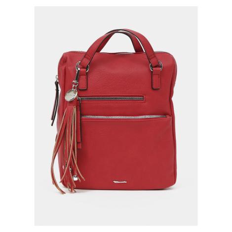 Tamaris czerwony 2w1 plecak torebka