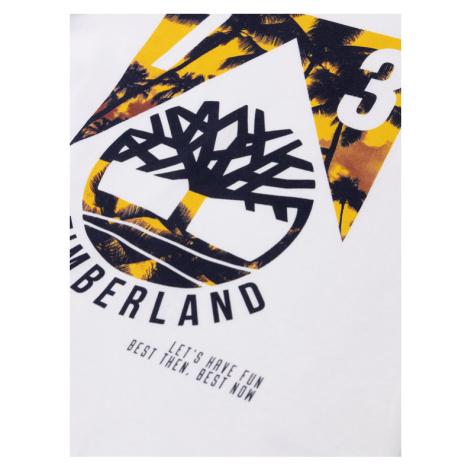 Timberland T-Shirt T25Q61 D Biały Regular Fit