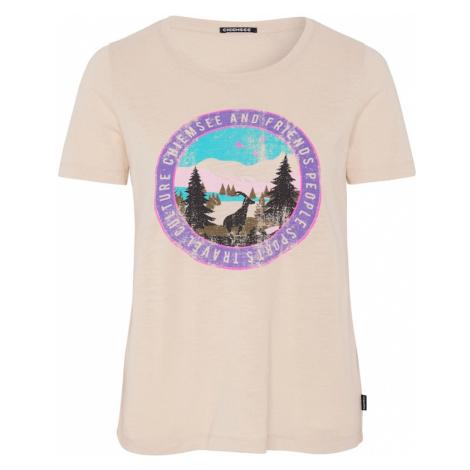 CHIEMSEE Koszulka funkcyjna 'Sangaj' beżowy