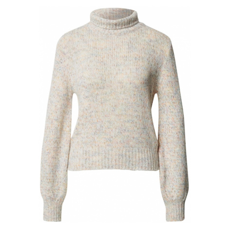 UNITED COLORS OF BENETTON Sweter kremowy