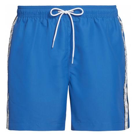 Calvin Klein Swimwear Szorty kąpielowe królewski błękit