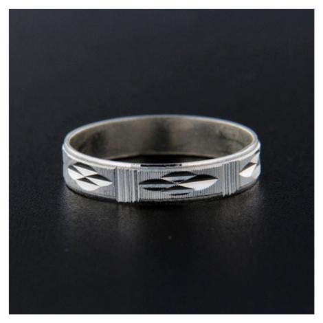 Pierścionek srebrny 13831