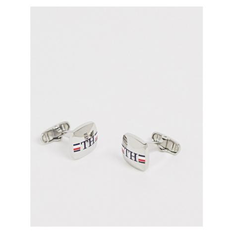 Tommy Hilfiger branded cufflinks in silver